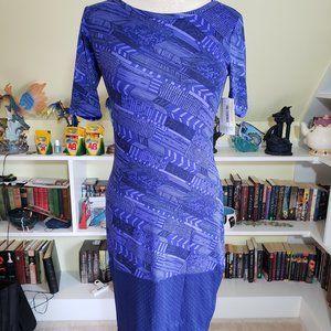 Lularoe Dipped Julia Dress XS NWT
